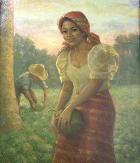 biography of filipino artist 17 best images about fernando amorsolo paintings on