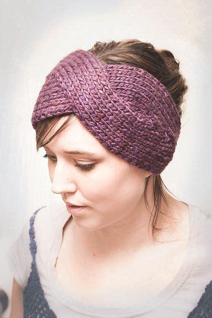 Parisian Twist Headband Ear Warmer Pattern By Elisa