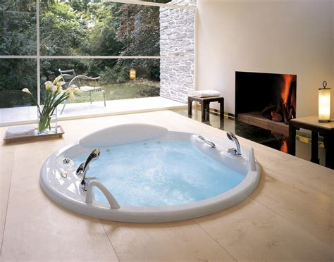Vanity Merrick Bahtroom Cozy Jacuzzi Tubs For Bathrooms With Large Window