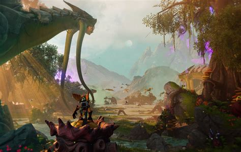 insomniac games reveals  ratchet clank game   ps