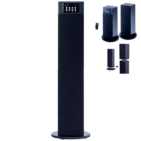 craig  stereo home theater tower speaker system
