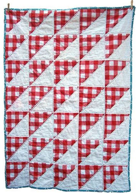 Gingham Quilt by And White Gingham