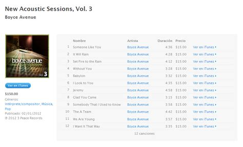 Boyce Avenue Acoustic Sessions 3 boyce avenue new acoustic sessions vol 3 itunes plus aac m4a psxdb lmepem