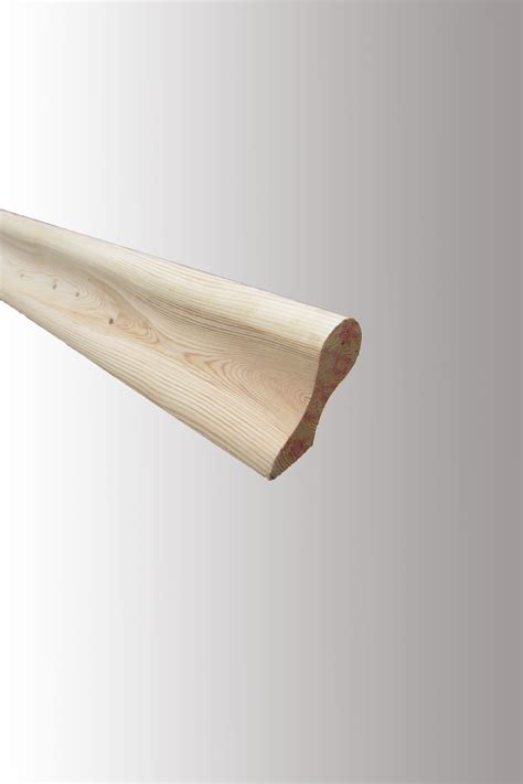 Wall Handrail Pigs Ear Handrail Oak Or Pine Wall Mounted Blueprint
