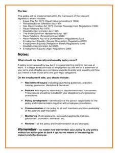 Diversity Policy Template by Sle Equality Diversity Policy Free
