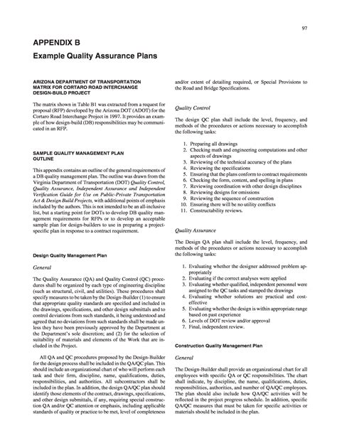 project quality management plan quality plan template fieldstation