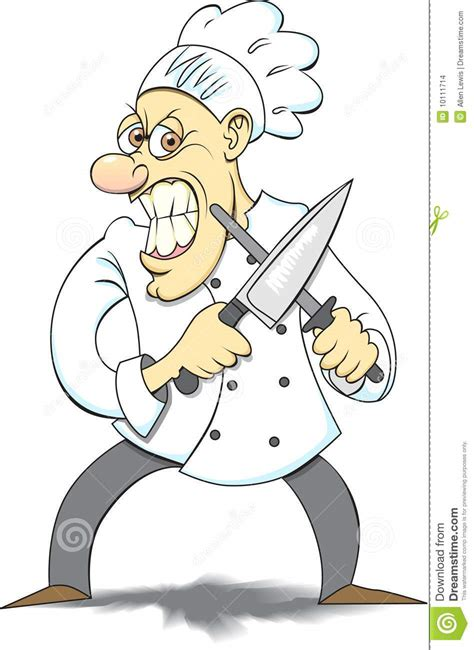 Kitchen Program Design Free angry chef stock images image 10111714