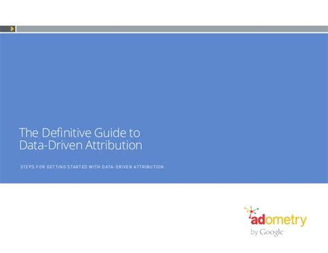 The Guide To Electricity Ebook E Book ebook definitive guide to attribution