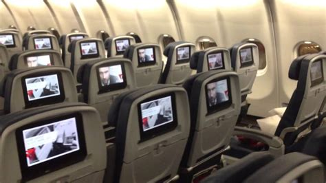 Delta Airlines Interior by Delta Airlines Airbus A330 200 Walkthrough New Interior