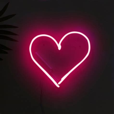 Gift Ideas For Her by Love Heart Neon Light Firebox