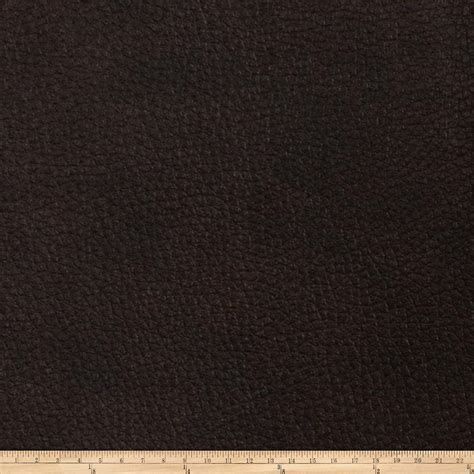 buy leather upholstery fabric fabricut alloy faux leather umber discount designer