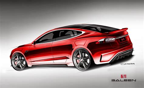 Saleen Tesla Saleen Automotive Plans Orange County Aggro Tesla Model S