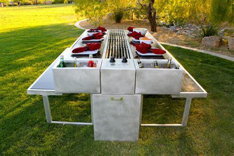 outdoor grill   cook  eat  design milk