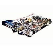 1982 Porsche 956 C Coupe Race Racing Interior Engine F
