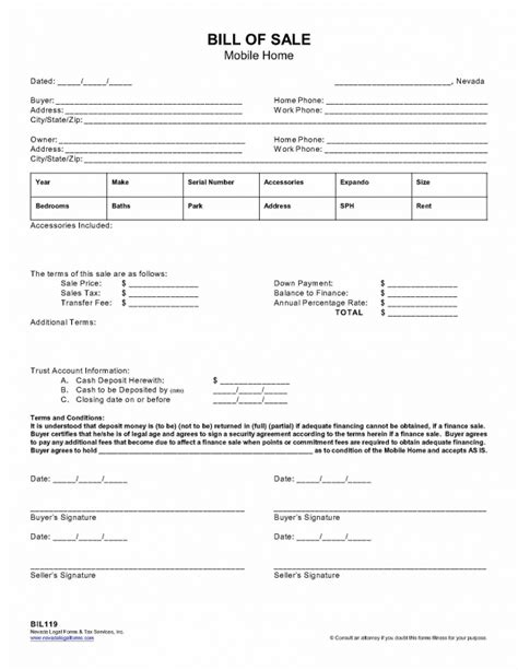 sle invoice paid in full 90 mobile home bill of sale template bill of sale