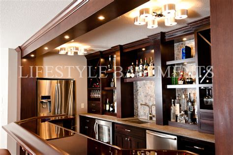 built in wet bar cabinets with sink wet bar