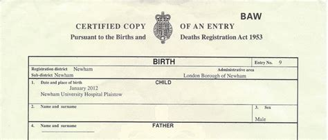 birth certificate template uk using a uk birth certificate overseas get an apostille