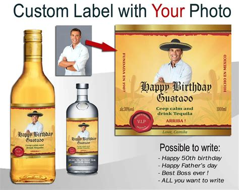 Custom Liquor Bottle Labels Top Label Maker Liquor Bottle Labels Template