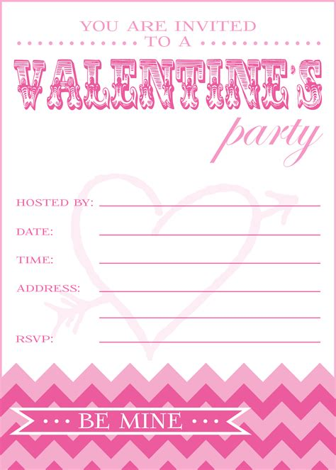 9 best images of valentine s day printable party