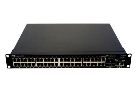 Switch Dell dell powerconnect 3548 48 port network switch w rack ears ac cord 5120p m725k