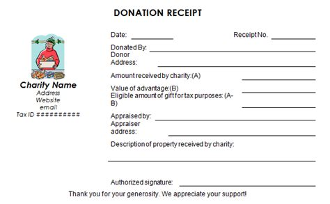 free donation receipt template word 50 free receipt templates sales donation taxi