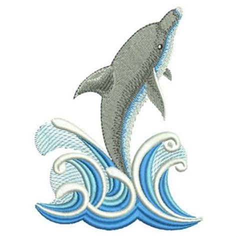 embroidery design dolphin sweet heirloom embroidery design jumping dolphin 3 82