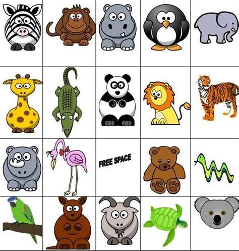 printable animal bingo for preschoolers students will play a game of zoo animal bingo winnie the