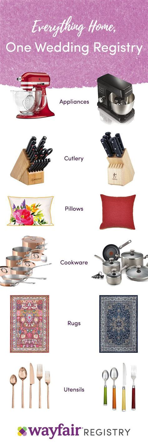 Best 25  Best wedding registry ideas on Pinterest
