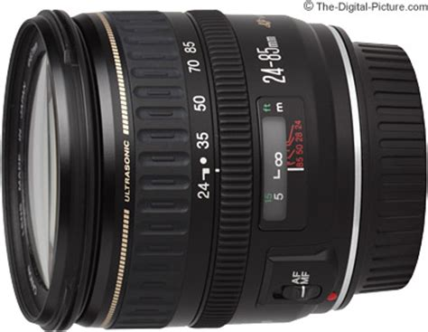 canon ef 24 85mm f/3.5 4.5 usm lens review