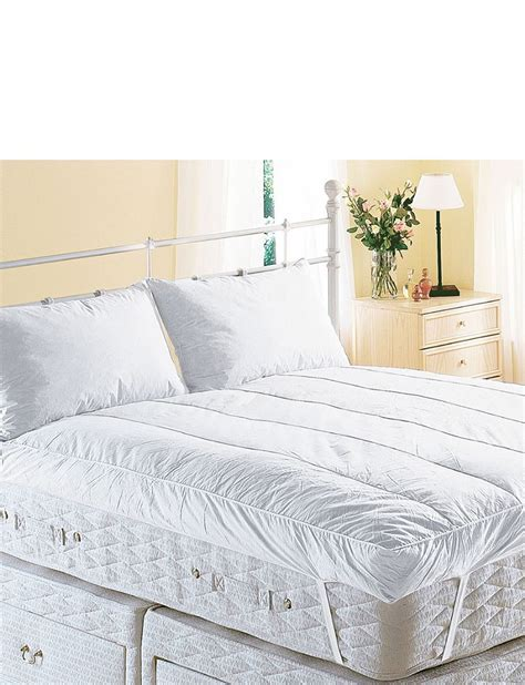feather bed topper snuggledown extra deep luxury feather bed mattress topper