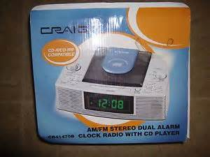 craig cr41470b dual alarm clock radio with cd player on popscreen