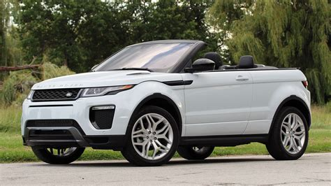 land rover convertible 4 first drive 2017 land rover range rover evoque convertible