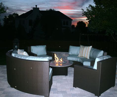 Gas Patio Table Patio Table With Gas Pit Home Ideas