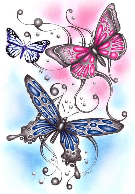 imagenes de mariposas a color dibujos en colores de mariposas imagui