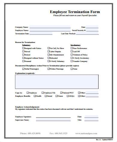sle employee form 11 exles in word pdf