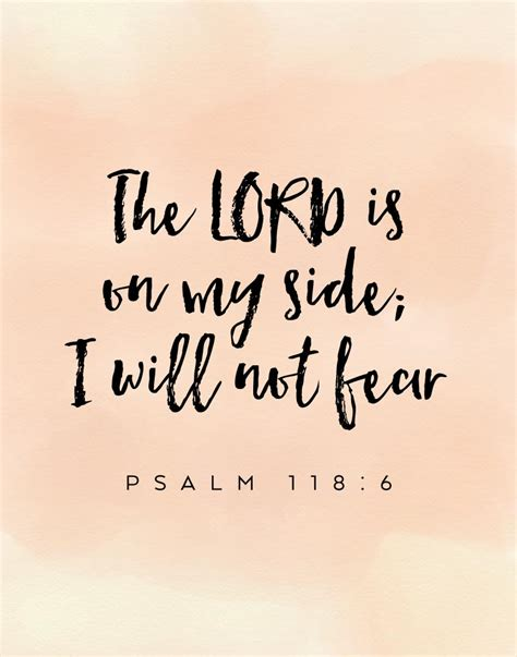 i will not fear my story of a lifetime of building faith books the lord is on my side i will not fear psalm 118 6