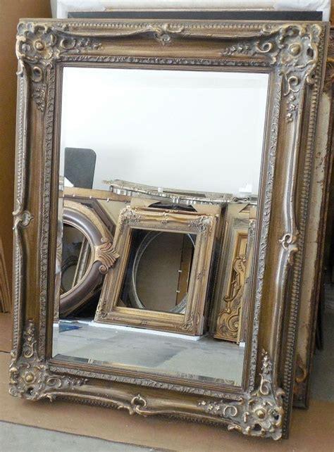 large solid wood  rectangle beveled framed wall