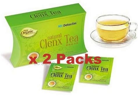 Detox Clenx Tea by Green Clenx Tea Organic Lose Weight Nh Detox Slim