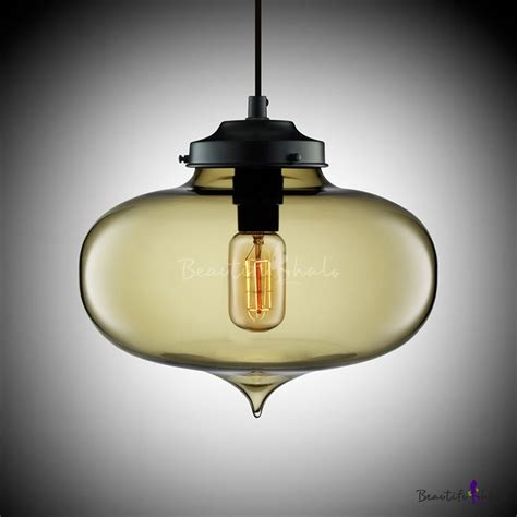 stunning glass bucket pendant l with light colored buy loft industria oval colored glass l mini pendant light