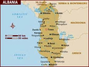 Albania Map Europe by Albania Map Images