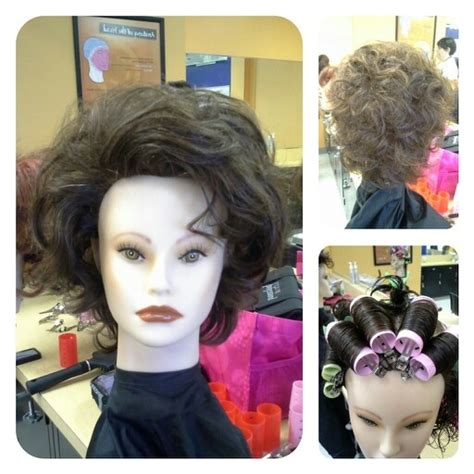 finger wave and roller set cosmetology empirebeautyschool cosmetology roller sets 12 best images about my old lady