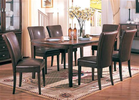 beautiful cherry dining room table and chairs contemporary