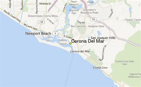 corona del mar weather station record historical weather