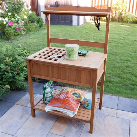 potting benches with storage 1000 ideas about potting benches on pinterest potting
