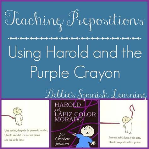 libro harold and the purple m 225 s de 1000 im 225 genes sobre teaching spanish en espa 241 ol idioma y partes del cuerpo