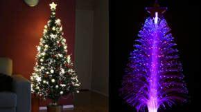 arboles de navidad de fibra optica tecnologia y decoracion