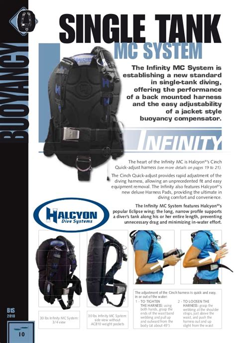 halcyon dive equipment halcyon dive catalogue 2010