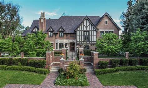 Small Home For Sale Denver 10 000 Square Foot Brick Tudor Mansion In Denver Co