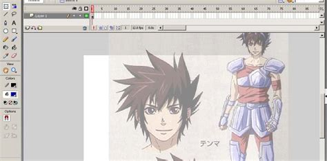 tutorial flash externo movimiendo de cabello en personaje de anime con flash por