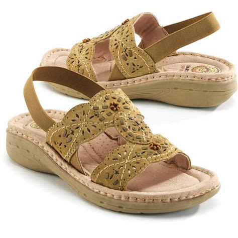earth spirit s willow leather sandals shoes